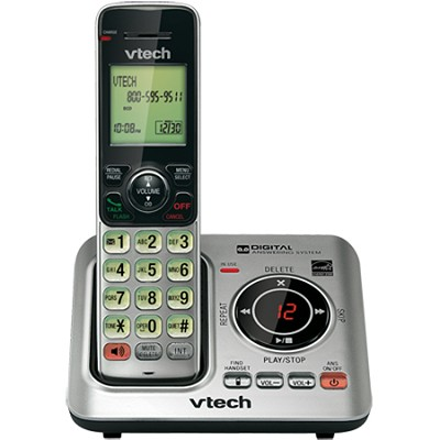 DECT 6.0 1-Handset Landline Telephone Cordless Answering System - CS6629