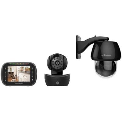 Scout2360 Wireless Pan/Tilt/Zoom Pet Monitor w/ 3.5-inch LCD Screen - OPEN BOX