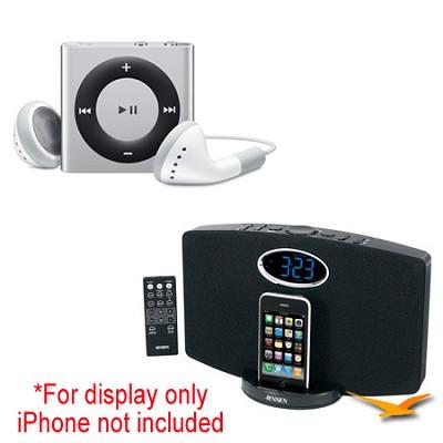 JiMS-211i Docking Station and iPod Shuffle Bundle