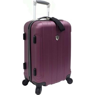 Traveler?s Choice Cambridge 20` Hardsided Carry-On Spinner, Plum
