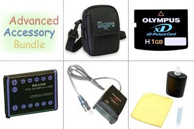 Bargain Accessory Bundle for Olympus Digital Cameras