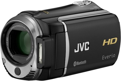 Everio GZ-HM550B 32G and SD/SDHC card slot High-Def Camcorder