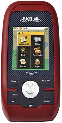 Triton 200 Handheld GPS Navigation System w/ 2.2-inch Display