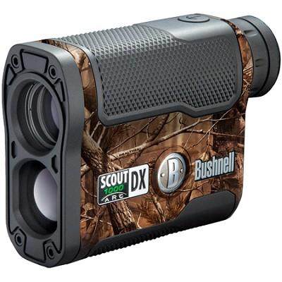 Scout DX 1000 ARC 6 x 21mm Laser Rangefinder, Realtree AP Camouflage