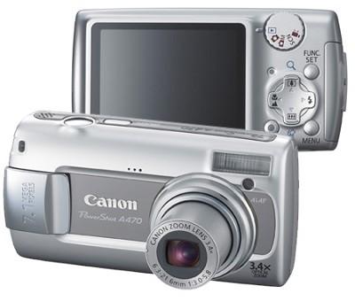 PowerShot A470 Digital Camera (Gray)