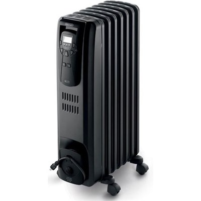 EW7507EB Oil Filled Radiator Heater Black 1500W
