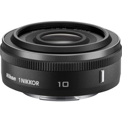 1 NIKKOR 10mm f/2.8 Lens Black - OPEN BOX