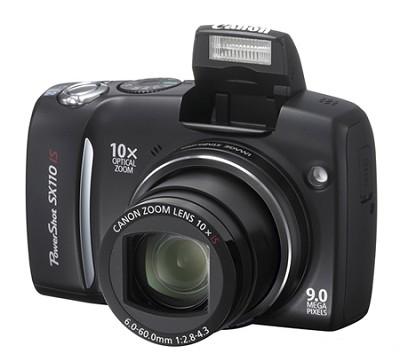 Powershot SX110 IS 9MP Digital Camera (Black)