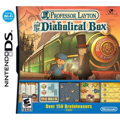 DS Professor Layton and the Diabolical Box