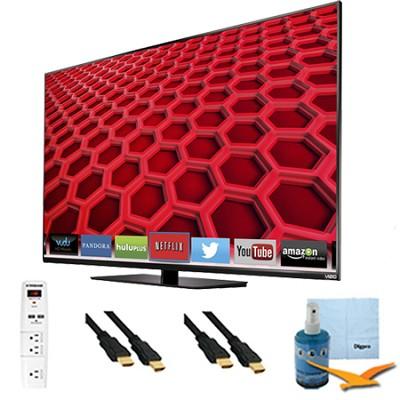 55` Full-Array LED Smart HDTV 1080p Full HD 120Hz Plus Hook-Up Bundle - E550i-B2