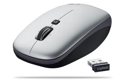V550 Nano Cordless Laser Mouse for Notebooks - Grey