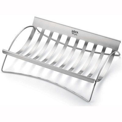 Style Stainless Steel Roast Holder - 6436