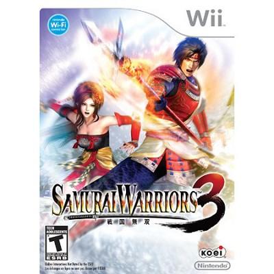 Wii Samurai Warriors 3