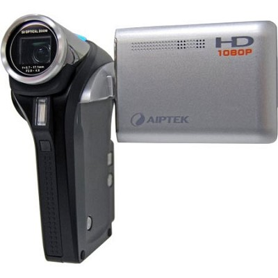 Action HD GVS 1080P High Definition Camcorder with 5x Optical Zoom (Silver)