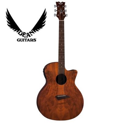 AXS Spalt Caw Acoustic Electric Guitar - Gloss Natural