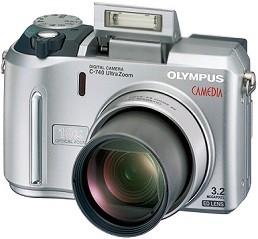 C-740 ULTRA ZOOM Refurbished Digital Camera