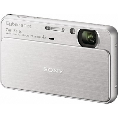 Cyber-shot DSC-T99 14MP Silver Touchscreen Digital Camera