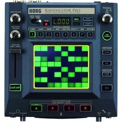 Kaossilator Pro Tabletop Synthesizer