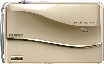 FinePix Z800EXR 12 MP 3.5 inch Touch Screen LCD Digital Camera - Gold
