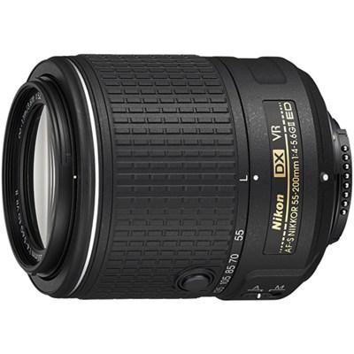 AF-S DX NIKKOR 55-200mm f/4-5.6G ED VR II Lens - Factory Refurbished