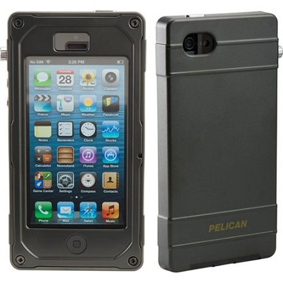 Progear Vault Series For Iphone 5, Green/Black/Gunmetal CE1180-I50A-81D