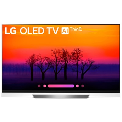 OLED65E8PUA 65` Class E8 OLED 4K HDR AI Smart TV (2018 Model)