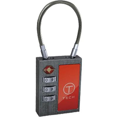 T-Tech Cable Lock, Silver