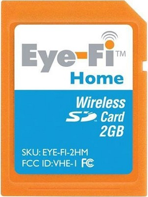 2GB Home Wireless Photo Uploads to your Computer