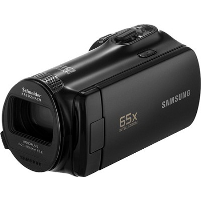 SMX-F54 52x Optical Zoom Black Camcorder