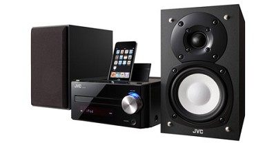 JVC UX-J51 CD micro component system with a built-in dock for iPod, USB2.0