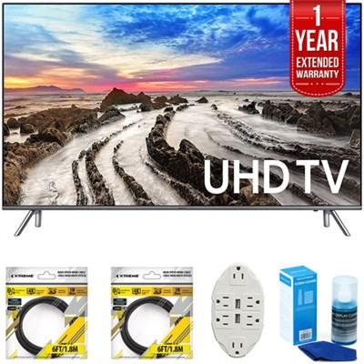 48.5` 4K Ultra HD Smart LED TV 2017 Model with Extended Warranty Bundle