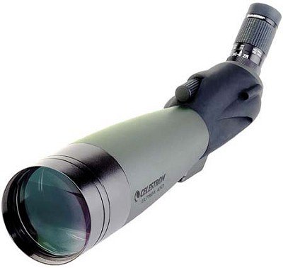 Ultima 100 Spotting Scope with 22-66x Zoom Eyepiece - 45 degree Angle