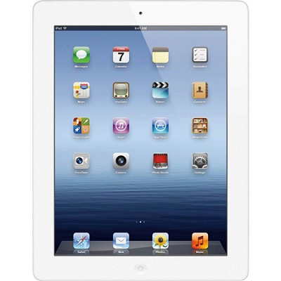 16GB new iPad with Wi-Fi (White) MC328LL/A - Refurbished