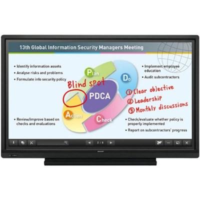 PN-L603B Aquos Board 60` Edge Lit LED Backlight Interactive Display System