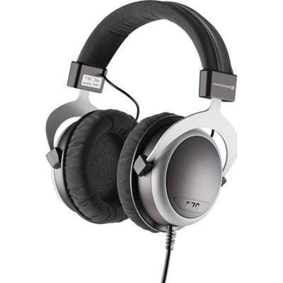 T70 Over Ear Headphone - Black/Grey 250 Ohms