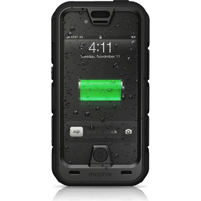 Juice Pack Pro for iPhone 4/4S Ruggedized Rechargeable External Battery Case