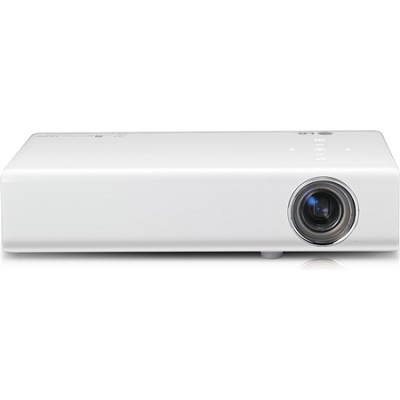 PB61U Micro-Portable 700 Lumens 3D Ready LED Projector with Built-In Tuner