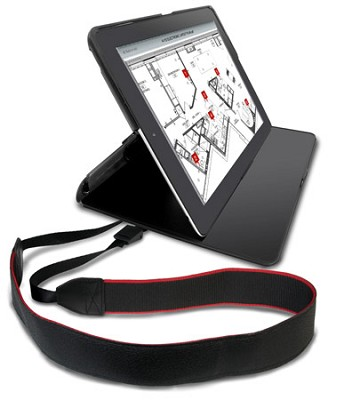 Protective Carry Case with Shoulder Strap for iPad 2 - OPEN BOX