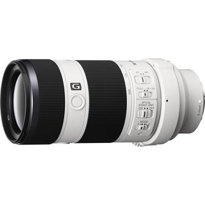 70-200mm Full Frame F4 G OIS Interchangeable E-Mount Lens for Sony Alpha Cameras