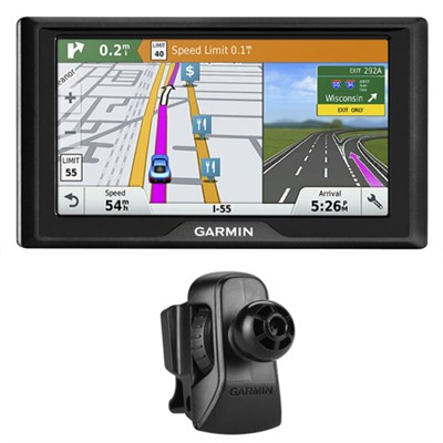 Drive 60LMT GPS Navigator (US Only) - 010-01533-0B w/ Garmin Air Vent Mount