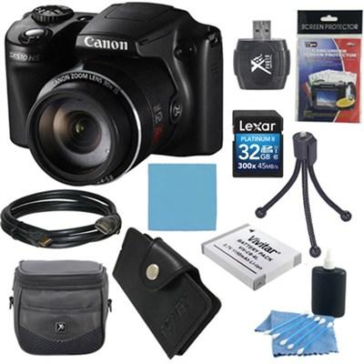 PowerShot SX510 HS 12.1 MP Digital Camera Ultimate Bundle