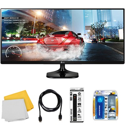 34` UltraWide 21:9 IPS WFHD (2560x1080) LED Computer Gaming Monitor with Kit