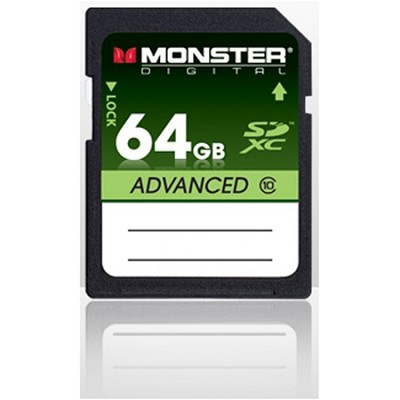 64GB SDHC Full Size SD Memory Card Advance Series