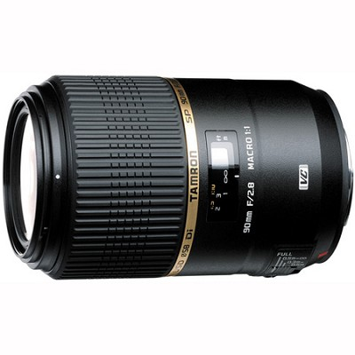 SP 90MM F/2.8 DI MACRO 1:1 VC USD For Canon EOS, With 6-Year USA Warranty