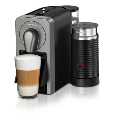 Prodigio Smart Connected Coffee, Espresso Maker and Milk Frother (Grey)