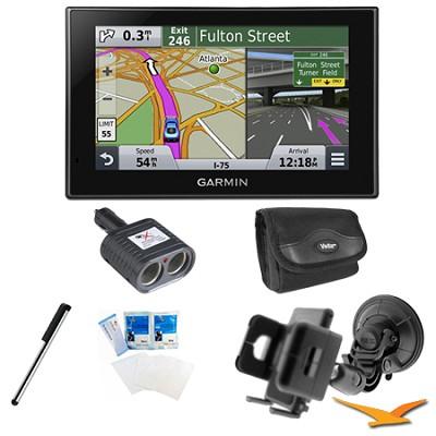 nuvi 2559LMT Advanced Series 5` GPS Navigation System w/ Bluetooth Mount Bundle