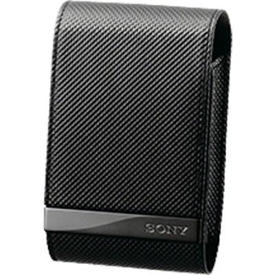 LCSCSVD/B - Carrying Case CyberShot Soft Leather BLACK