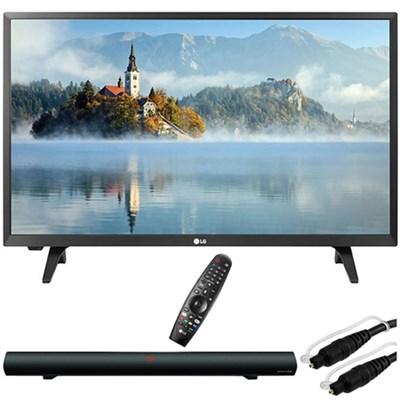 28LJ430B-PU 28`-Class HD 720p LED TV w/ Sound Bar Bundle