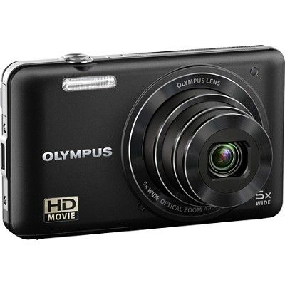 VG160K 14MP 5x Opt Zoom Black Digital Camera - Black