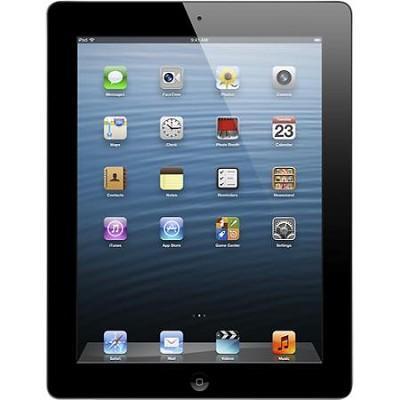 iPad 4 with Wi-Fi 32GB - Black (Model: MD511LL/A)
